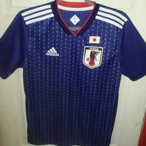 Adidas Japan Home Soccer Jersey
